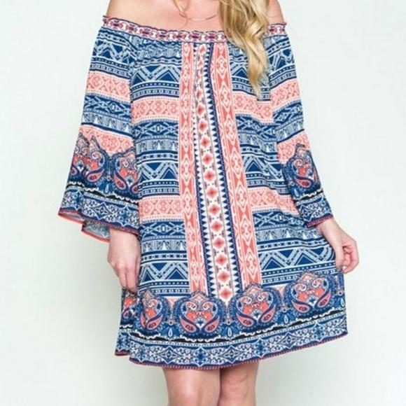 Flying Tomato Dresses & Skirts - Flying Tomato bohemian tunic dress